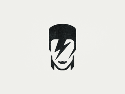 David Bowie: Icon for an Icon ripdavidbowie david ziggy bowie rip iconic illustration tribute artist david bowie icon