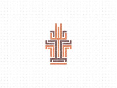 ▤益▤ terminal building architecture space invaders app logo ipad pacman robot robotic pattern los logos logo designer identity designer icon designer symbol designer iconographer iconography