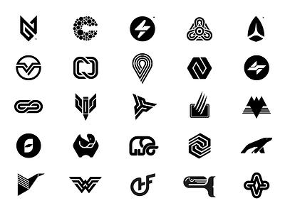 Random Logos, Symbols & Brand Marks from the Archives branding identity brandmark logomark logodesign logo logo collection