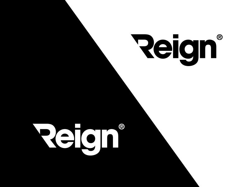 Reign - Logotype Design helvetica typography logo design logo designer reign logotype