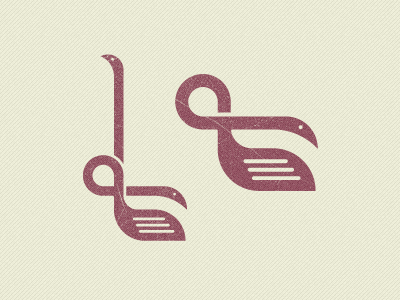 Stop making a fool out of me... golf swans snake logo geometry flamingo