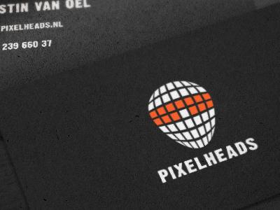 Pixelheads Logo logo pixelheads webdesign front-end development