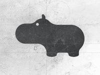 Hippo - Logo Design Brand Mark Symbol
