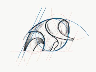 Logo / Brand Mark Sketch logodesigner icon branding tusk brandmark elephant animal logo