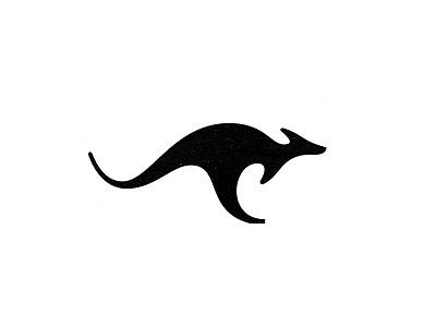 Kangaroo logo collection kangaroo animal symbol brandmark mark logo