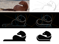 Making of a Mink logo