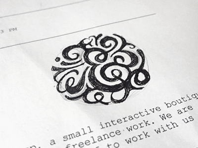 Ampersand phonecall doodle