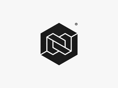 Modularity symbol m monogram geometric logo collection icon mark logo