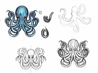 Octopussy Sketches