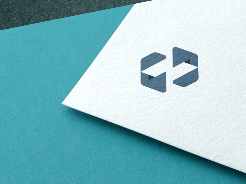 ... mockup geometric n monogram lettering typography brand mark identity branding logo