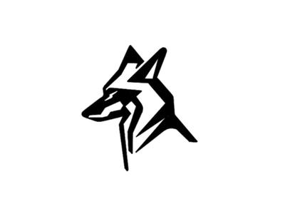 Poly Wolf - digital sketch