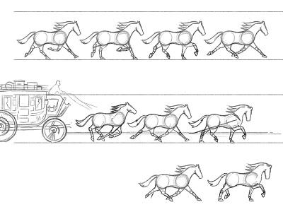 Logo Design Process Part for Wells Fargo wells fargo exploring sketches horses identity logo process brandmark branding logo collection