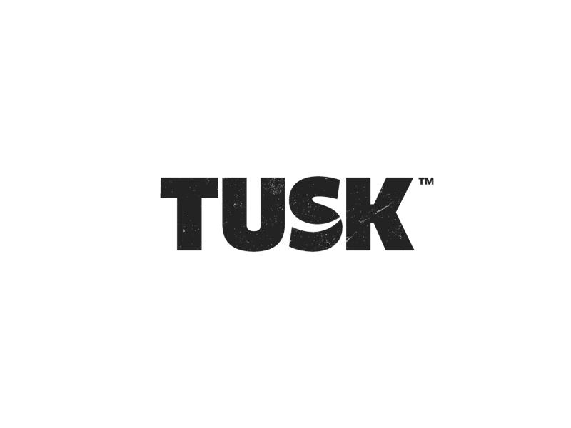 Tusk nature preservation logo designer wildlife typography logo design logotype logo tusk