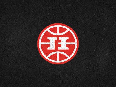 Hoops Family Monogram - logomark hoops family monogram logo