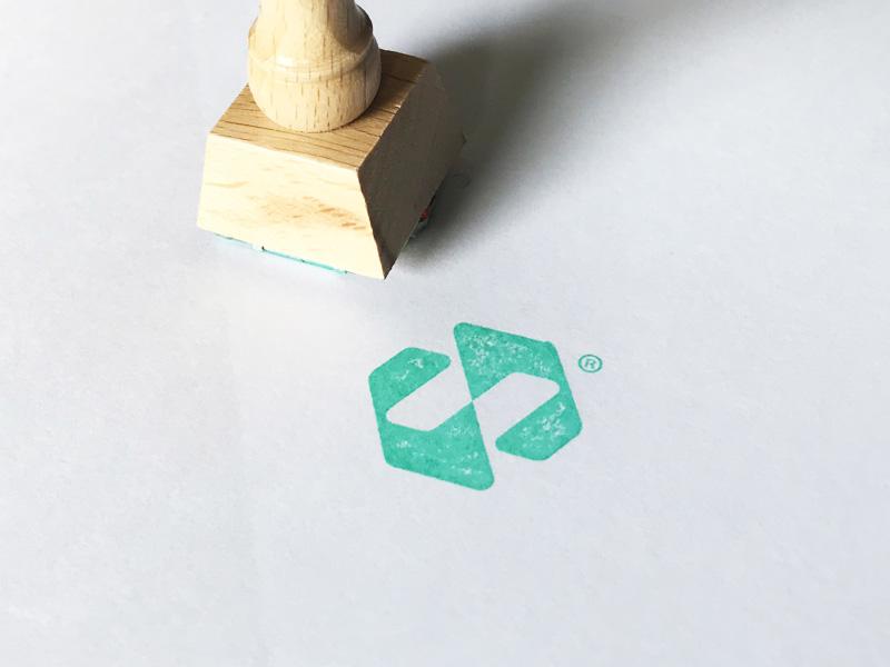 Stamp Nect branding symbol stamp identity brandmark logo designer logo design mark logo