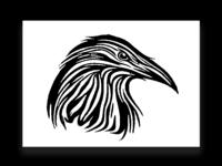 Inktober: Raven Tattoo