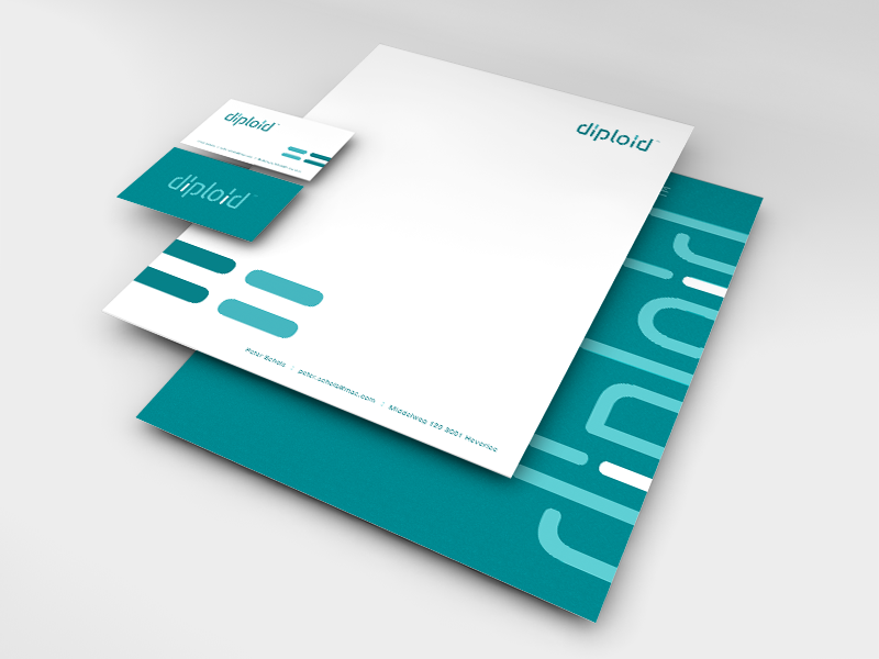 Diploid Corporate Identity stationary design corporate identity brand identity designer brand and identity brand identity design identity designer identity logo designer logo design logo