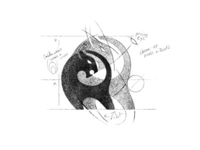 Rough Logo Design Sketch
