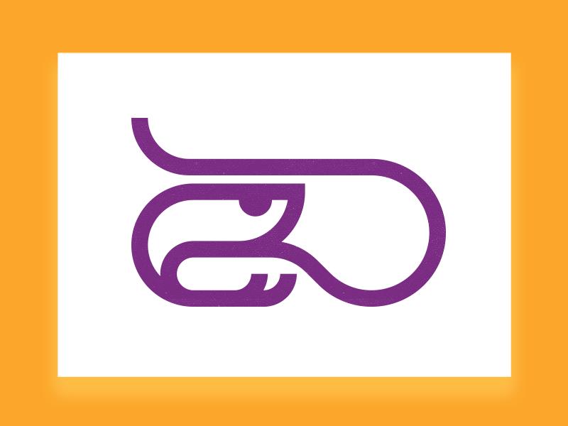 Shrimp Logo Mark icon designer iconographer illustration symbol designer iconography brandmark logo designer logo design mark logo