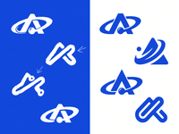 Atomic Blue Logo Mark Concepts