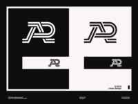 A+R Monogram Logo Design