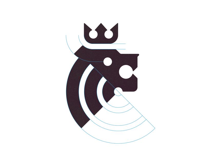Arthur brand designer lion head lion identity designer identity brandmark logo designer logo design mark logo
