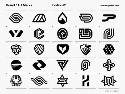 Brand / Art Marks - Edition  01 branding agency branding artmarks logotypes identity designer logo designer logo design brandmarks logos