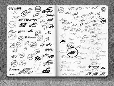 Define, Refine, Repeat - Logo Sketches sketchbook logo sketches symbol icon mark identity designer brandmark logo designer logo design mark logo