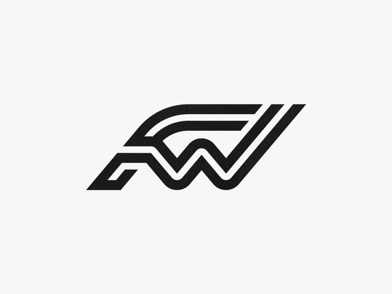 FW brand mark identity designer symbol monogram branding symbol designer logotype typography identity brandmark logo designer logo design mark logo