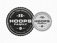Hoops Family Badge Of Honor
