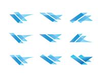 Blue Marks.