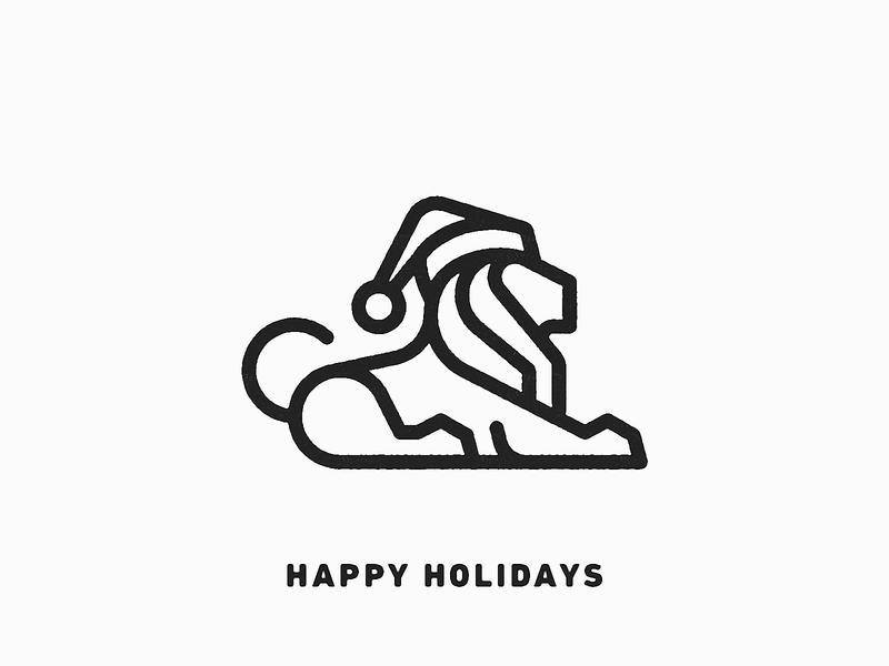 Happy Holidays! 2018 christmas happy holidays holidays branding illustration logotype identity designer identity brandmark logo designer logo design mark logo