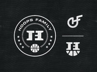 Hoops Family Logo, Badge & Monogram Concepts