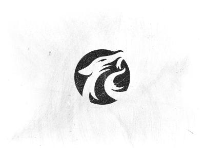 Wolfs Little Store - Logo Design logo mark wolf logo design brand mark identity linocut woodcut style