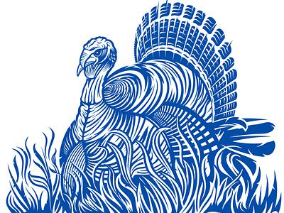 Wild Turkey Vector Packaging Artwork brand identity logo designer logo design illustrator vector art vector packaging package design illustration turkey