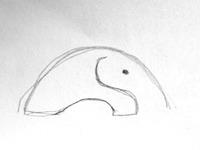 Elephant mouse 2sec doodle
