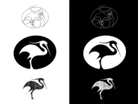 White Stork sketch (2)