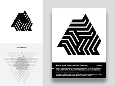 Custom Logo Design: Grids & Geometry grids geometry learn logotype custom logo design identity brandmark logo designer logo design mark logo