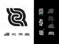 Brand Mark Design Process - Logo Design Sketches