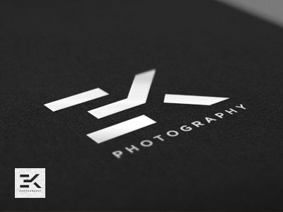 EK Monogram - Logo Design monogram logo mark design photography architecture architectural ek geometry geometric