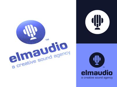 Archived: elm audio Custom Logo Design