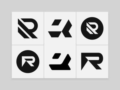 R Monograms & Brand Mark Design