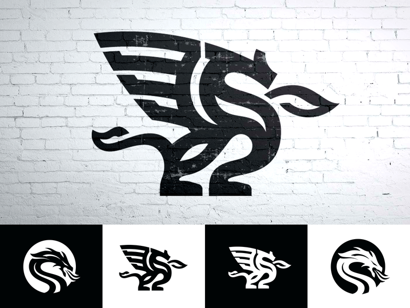 Final Selections of Logo Design - Firebreathers illustration vector icon brand identity branding animal logos brandmark identity designer logo designer logo custom logo design logo design dragon dragons firebreathers