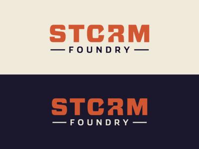 Storm Foundry - Custom Logo Design