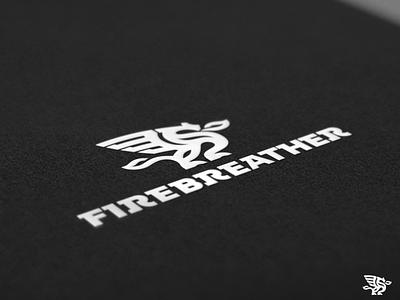 Firebreather - Logo Design WIP brand typography custom font custom lettering typography custom logo design brand mark firebreather fire dragon identity designer brandmark logo designer logo design