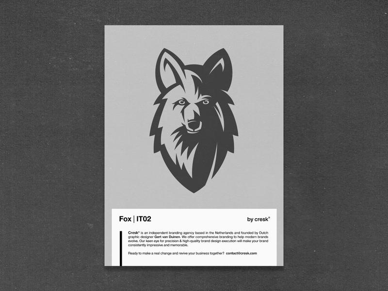 Foxy Gray - Custom Logo Design fox vector fox illustration fox logo animal logo foxy fox branding identity designer brandmark logo designer logo design