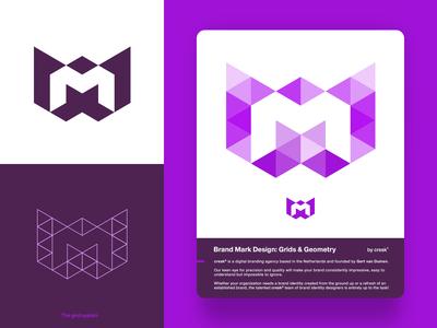 M Letter Mark / Monogram Logo Design