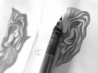 Sarnath Lion - Logo Concept Sketch