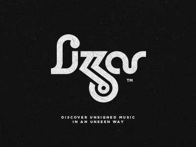 Lizzar - Final Logotype edm logo typography logotype design lettering music brand mark labels record lizzar artists classy community discover fresh friendly modern social