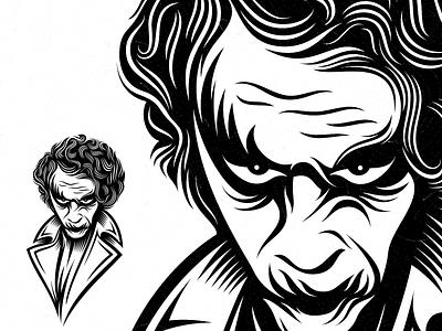 Joker joker guy illustration logo designer logo design halloween design happy halloween joker